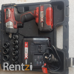 Ozito Battery Impact Wrench with Impact Sockets